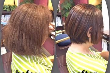 ASTON HAIRの縮毛矯正はご希望のヘアスタイルが叶う!