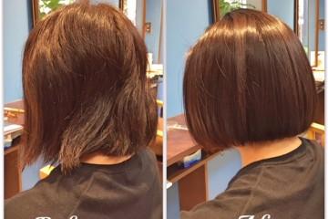 ASTON HAIRの縮毛矯正はしなやかで丸みを感じる!