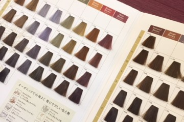ORGANIC HAIR COLOR 導入しました!!
