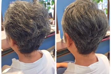 アストンヘアのPremiumカットは髪質改善します!!